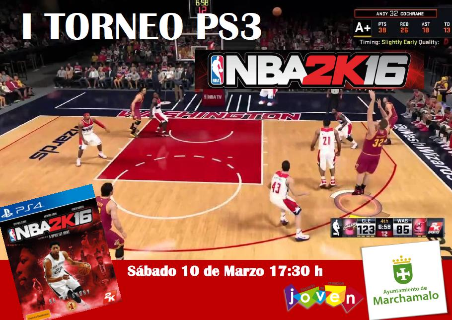 I TORNEO DE PS3 NBA 2k16