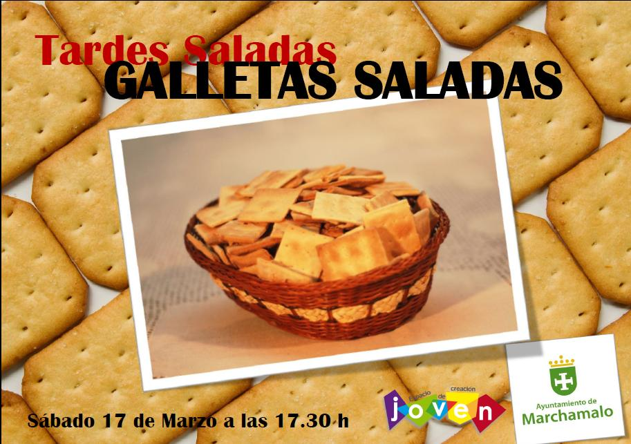 TARDES SALADAS GALLETAS SALADAS