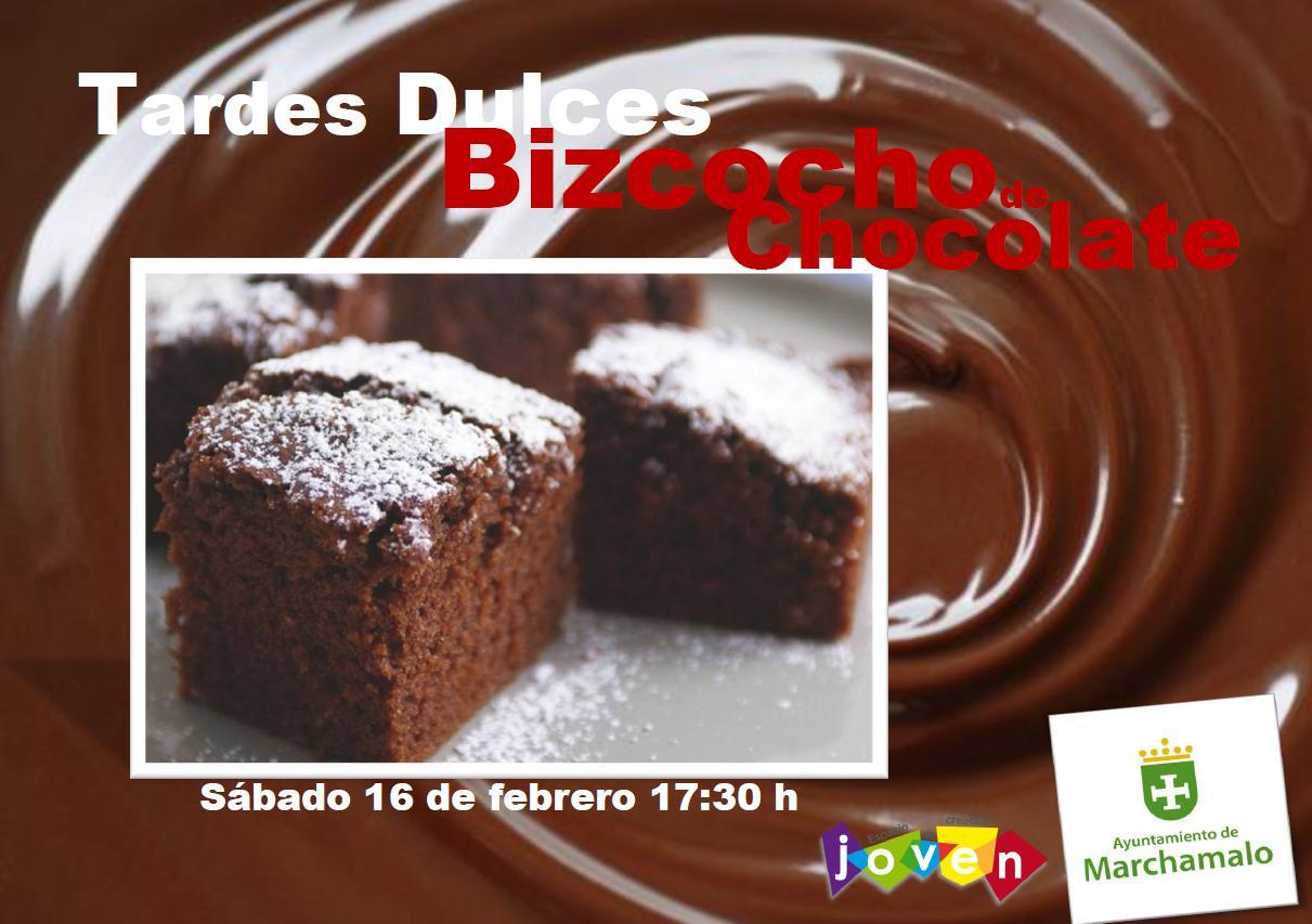 TARDES DULCES BIZCOCHO DE CHOCOLATE