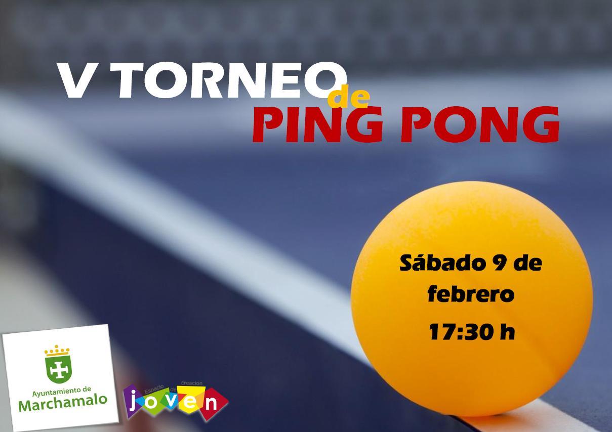 V TORNEO DE PING-PONG